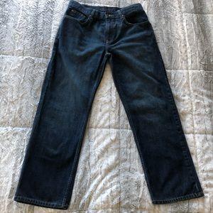 Old Navy Men's Straight Dark Wash Jeans 34Wx30L